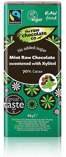 Minted Raw Chocolate