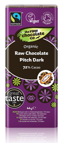 Pitch Dark Raw Chocolate