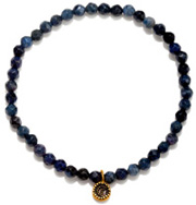 Dumortierite Moon Bracelet - Out Of The Blue