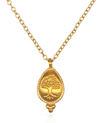 Rooted In Faith Necklace In Gold