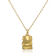 Gold Ganesha Necklace - Your Own Way