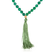 Green Onyx Here and Now Mala