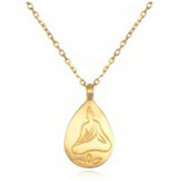 Stillness Necklace Buddha
