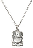 Silver Ganesha Necklace - Your Own Way