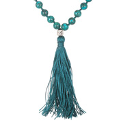 Turquoise Here and Now Mala