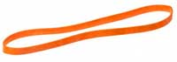 Rund elastik Orange 250/10mm