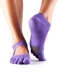 Toesox Fulltoe Plié Grip (Light Purple)