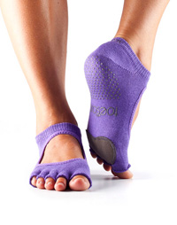 Toesox Halftoe Plié Grip (Light Purple)