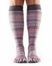 ToeSox Casual Knee-high (Siren)