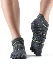 ToeSox Full Toe Low Rise Grip (Amped)