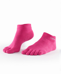 Toesox Sport UltraLite Ankle (Pink)