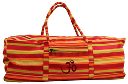 Yoga Taske Orange-stribet (Yoga Kit Bag)