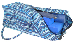 Yoga Taske Blåstribet (Yoga Kit Bag)